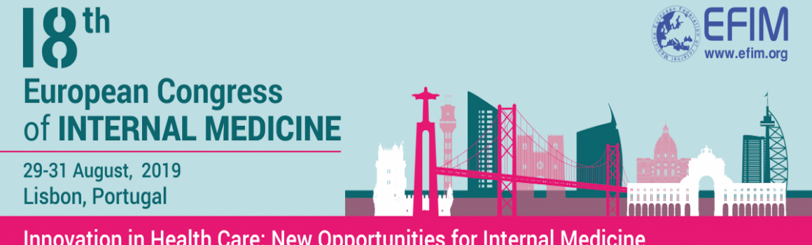 ECIM 2019 – 18th European Congress of Internal Medicine