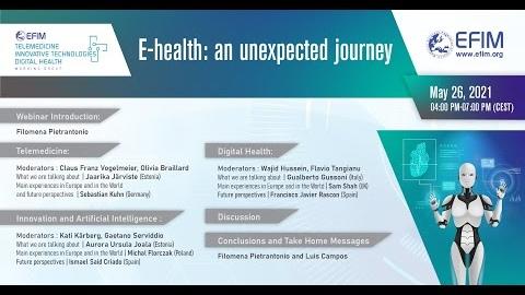 E-health: an unexpected journey