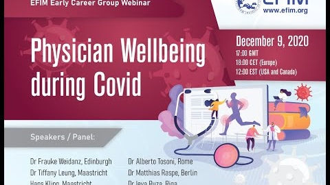 Physician Wellbeing during Covid