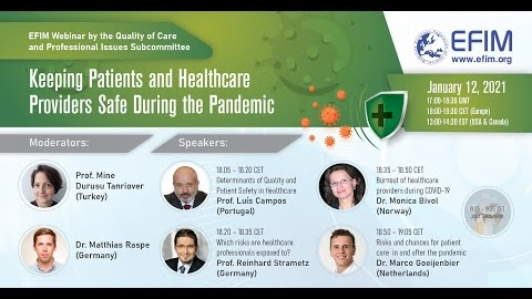 EFIM Webinar: Keeping Patients and Healthcare Providers Safe During the Pandemic
