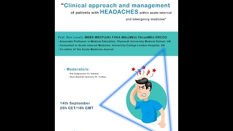 YI Webinar - Headache: Clinical approach and management of patients with headaches